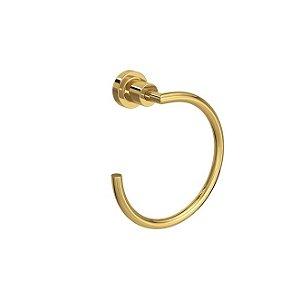 Porta Toalha Argola Slim 2050.GL.SLM Gold Deca