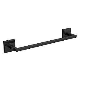 Porta Toalha Barra 30cm Clean 2040.BL.030.CLN.NO Black Noir Deca