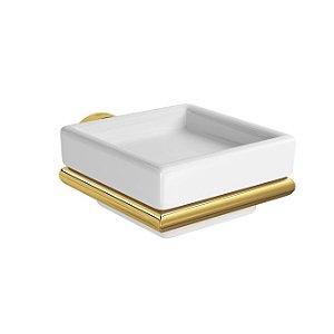 Saboneteira de Parede Clean 2011.GL.SLM Gold Deca