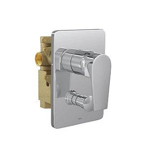 Misturador Monocomando 4 vias de Chuveiro com Desviador para Banheira Level 2994.C26 Deca