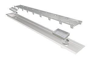 Ralo Linear Elleve Multimaster Line Tampa Oculta 80cm 236 Ralo Linear