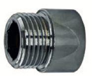 Mini Prolongador 1/2 com Sextavado Interno Cromado 1761 Roco