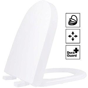 Assento Duna/Carrara/Lk Termofixo Soft Close Branco Tupan