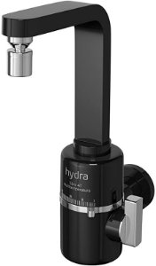 Torneira Slim 4T Parede Black 5500W 110V Hydra