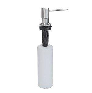 Dosador de Sabão em Aço Inox com Recipiente Plástico 500 ml 94517/004 Tramontina