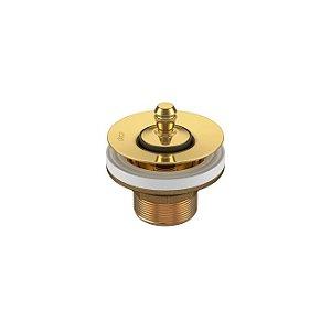 Válvula de Escoamento para Lavatório/Cuba/Bidê 1602.GL Gold Deca