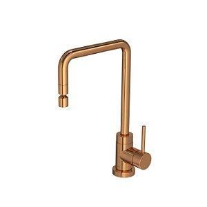 Misturador Monocomando de Mesa para Cozinha Spin 2270.GL72.RD Red Gold Deca