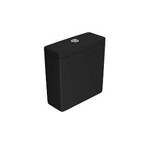 Caixa Acoplada com Acionamento Duo Piano/Polo/Quadra CD.21F.94 Ébano Fosco Deca