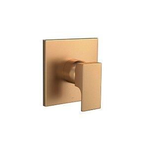 Acabamento de Monocomando para Chuveiro Unic 4993.GL90.CHU.MT Gold Matte Deca