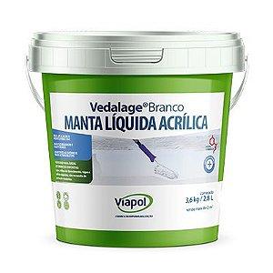 Vedalage Branco 2,85L/3,6kg Viapol