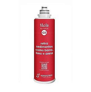 Refil Facile C2 Vermelho 903-0551 Hidrofiltros