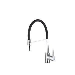 Misturador Monocomando para Cozinha de Mesa V-10651-50A-H Black Jiwi