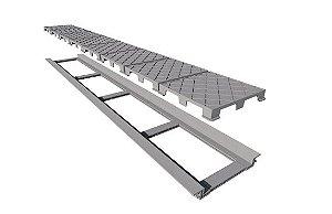 Ralo Linear Elleve Infinity Plus Line Tampa Oculta 130cm 2931 Ralo Linear