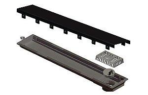 Ralo Linear Elleve Versatille Tampa Black Matte 75cm 4260 Ralo Linear