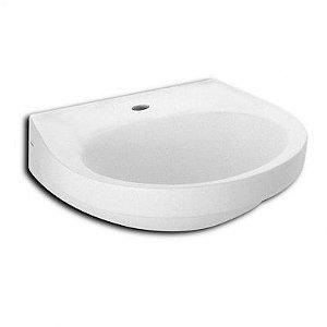 Lavatório para Banheiro Parati 47x42cm Branco Logasa