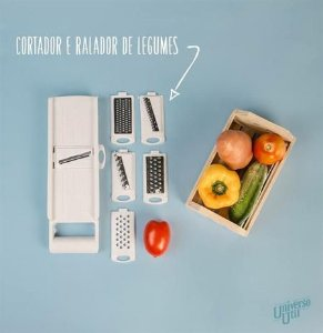 Cortador de legumes Com 8 peças