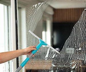 Mop Limpa Vidros Multiuso Extensível