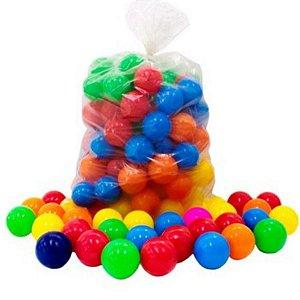 Pacote de Bolinhas Coloridas Para Playground Com 100 Bolinhas