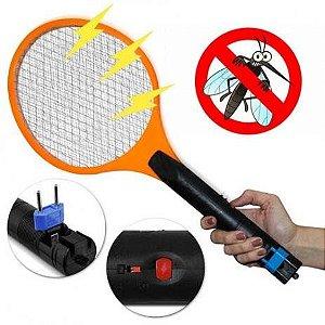 Raquete Mata Mosquitos Recarregável