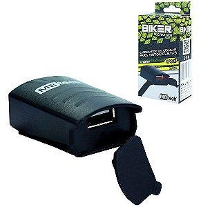 Carregador de Celular P/ Moto Com Saída USB 5V 2A