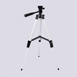 Tripé Universal 3 Way Câmera E Celular Ajustável