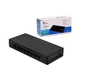 Switch 8 Portas Lan 10/100Mbps Knup Kp-E04