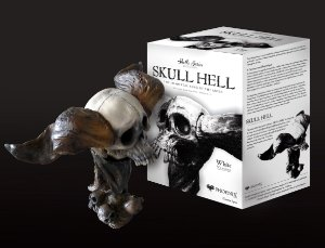 SKULL HELL - SKULL SERIES COLLECTION - WHITE VERSION