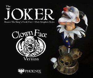 PRÉ-VENDA - THE JOKER - RAZTRO THE KING'S FOOL - CLOWN FACE