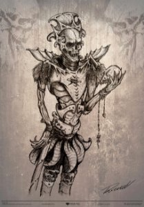 Gravura Murhar - Guerreiro Dark Kingdom