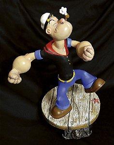 Popeye 1/5 The Sailor Man Statue | Versão Clássica