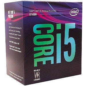 Processador Intel Core i5-8400 Coffee Lake 8a Geração, Cache 9MB, 2.8GHz (4.0GHz Max Turbo), LGA 1151 BX80684I58400