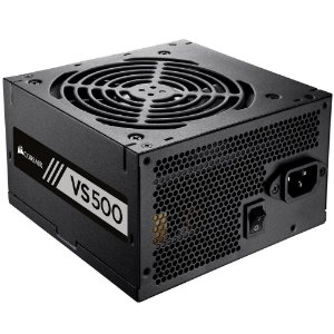 Fonte Corsair 500W 80 Plus White VS500 - CP-9020118