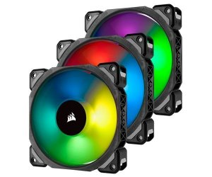 Ventilador Corsair ML120 PRO RGB 3 x 120mm PN # CO-9050076-WW
