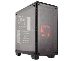 Gabinete Corsair Gamer Crystal ATX Series 460X Preto CC-9011099-WW