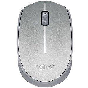 Mouse Logitech M170 Sem Fio Prata