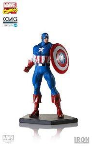 Capitão América - Marvel Comics Series 4 - 1/10 Art Scale Iron Studios