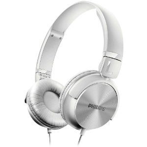 Headphone Philips P2, Driver 32mm, Branco - SHL3060BK