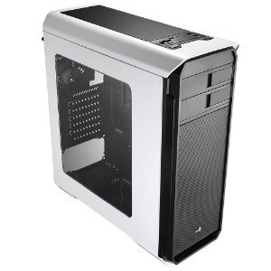 Gabinete Gamer Aerocool AERO 500 Window Branco - EN55583