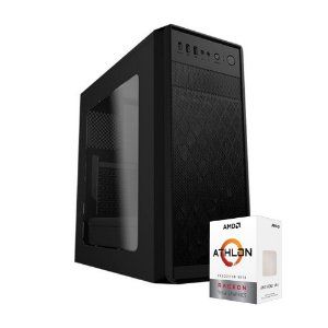 PC GAMER X1 MOBA - AMD ATHLON 200GE (VEGA 3), 8GB DDR4 (2 x 4gb), 500 GB