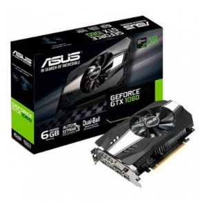 PLACA DE VIDEO ASUS GEFORCE GTX 1060 6GB, PH-GTX1060-6G