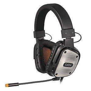 Fone de Ouvido Oex Headset Armour Hs403 Preto