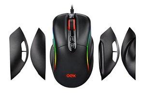 Mouse Titan RGB 14400 Dpi 7 botões