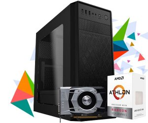 PC GAMER X1 MAX - AMD ATHLON 200GE, GTX 1050 2GB, 8GB DDR4, 1TB