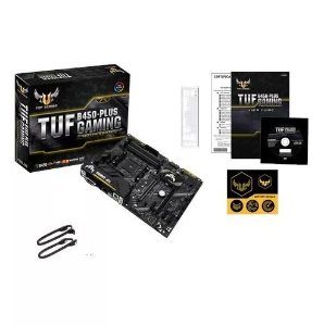 PLACA MÃE ASUS TUF B450-PLUS GAMING, CHIPSET B450, AMD AM4, ATX, DDR4