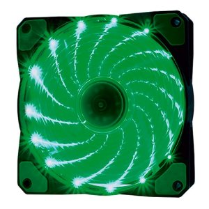 F20 COOLER FAN 15 LEDS (VERDE)
