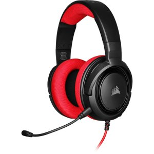 Headset Corsair HS35 Gaming RED PC, PS4, XBOX One, Switch CA-9011198-NA