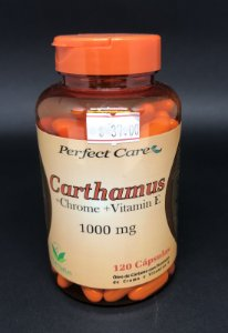 Carthamus + Chrome + Vitamin E 1000mg