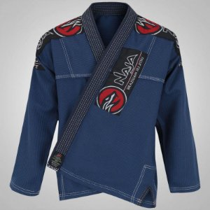 kimono new first azul marinho naja