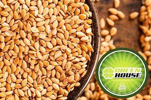 semente de linhaça dourada green house 1kg qualidade premium