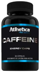 caffeine pro series atlhetica nutrition 90 cápsulas